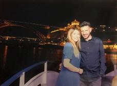 Tony Lemos com a mulher, Marta Silva