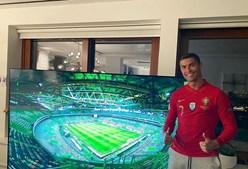 Cristiano Ronaldo apoia Seleção Nacional à distância
