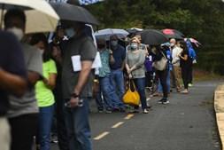Mais de 17 milhões de norte-americanos já votaram, segundo uma contagem da Universidade da Florida