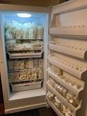 Julie produz cerca de 40 litros de leite materno por mês