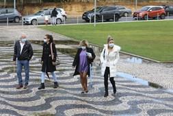 Luciana Abreu volta ao tribunal para assinar os papéis do divórcio