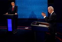 Debate eleitoral entre Donald Trump e Joe Biden