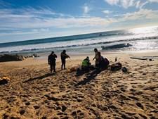 Embarcação vira com 14 passageiros a bordo na praia da Galé em Albufeira