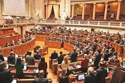 O momento em que BE votou contra o OE com PSD, CDS, IL e Chega. PCP, PEV, PAN e deputadas não inscritas abstiveram-se