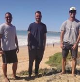 Surfistas resgataram vítimas