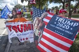 Trump promete 'vacinas fantásticas' e ataca Biden