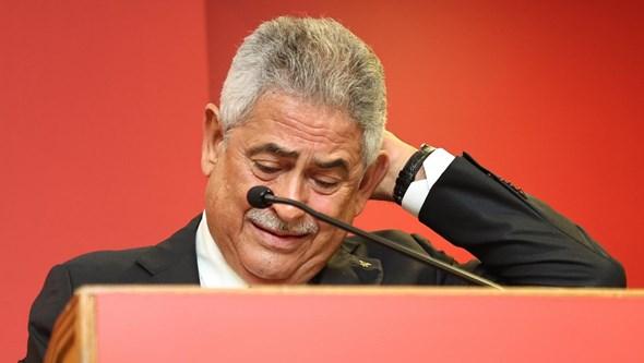"""""""Será o meu último mandato"""": Luís Filipe Vieira apresenta candidatura à presidência do Benfica"""