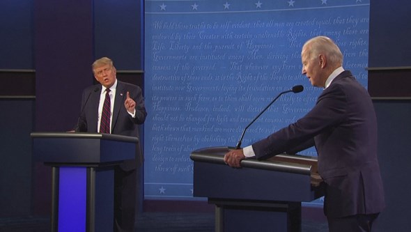 """Vais-te calar"" de Biden para Trump muda as regras do debate final: os microfones vão estar desligados"
