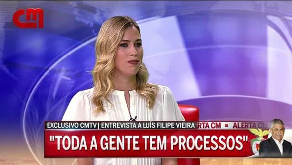 """Luís Filipe Vieira: """"Neste país não há quem não tenha processos judiciais"""""""