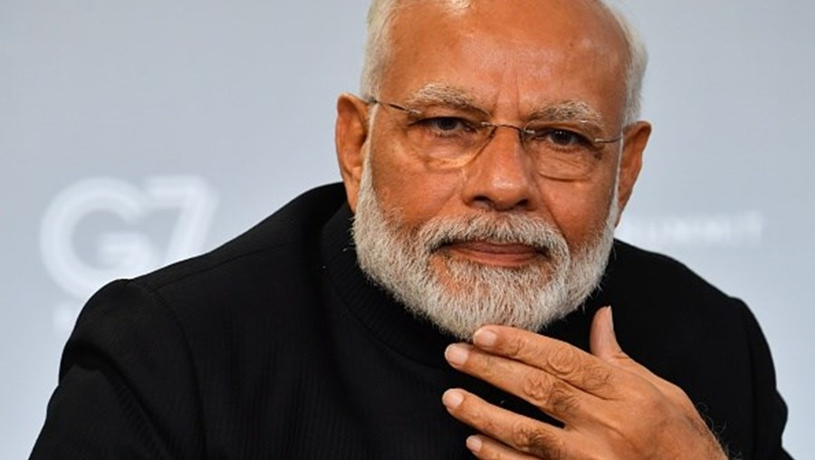 Narendra Modi, primeiro-ministro da Índia