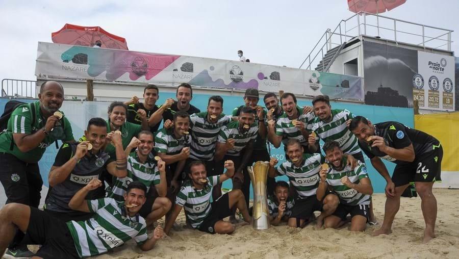 Sporting sagra-se campeão nacional de futebol de praia pela terceira vez