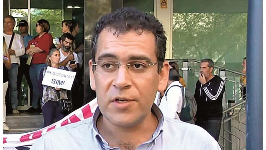 Sebastião Santana é secretário-geral da Frente Comum
