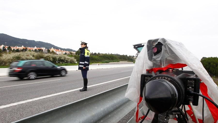 Radares de velocidade nas estradas portuguesas