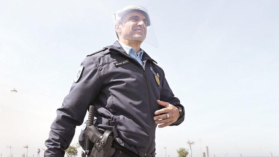 Magina da Silva, diretor nacional da PSP, acusou positivo à Covid-19