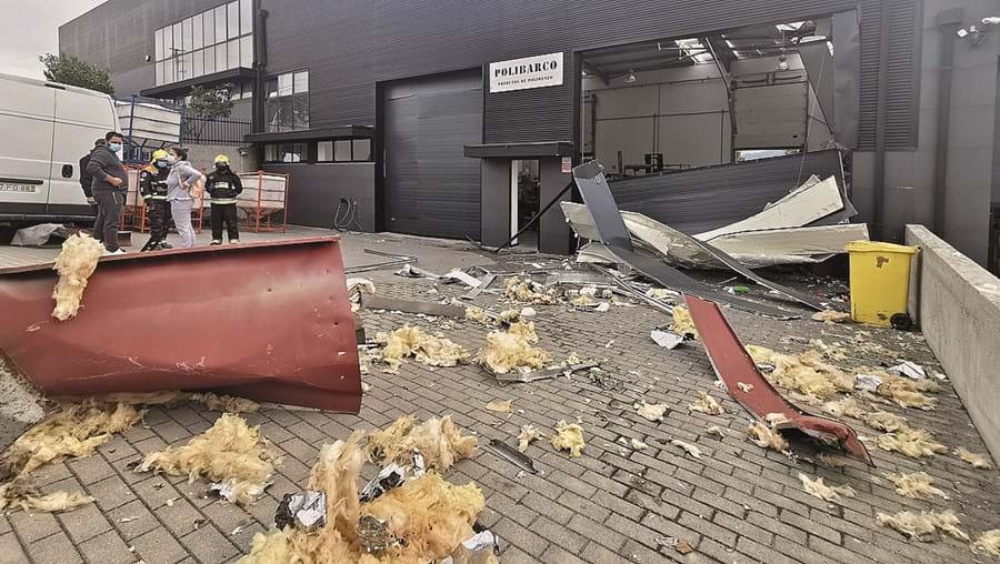 Explosão em Guimarães