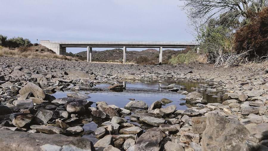 Ribeiras da zona do Sotavento algarvio são atualmente as mais afetadas devido à falta de precipitação na região