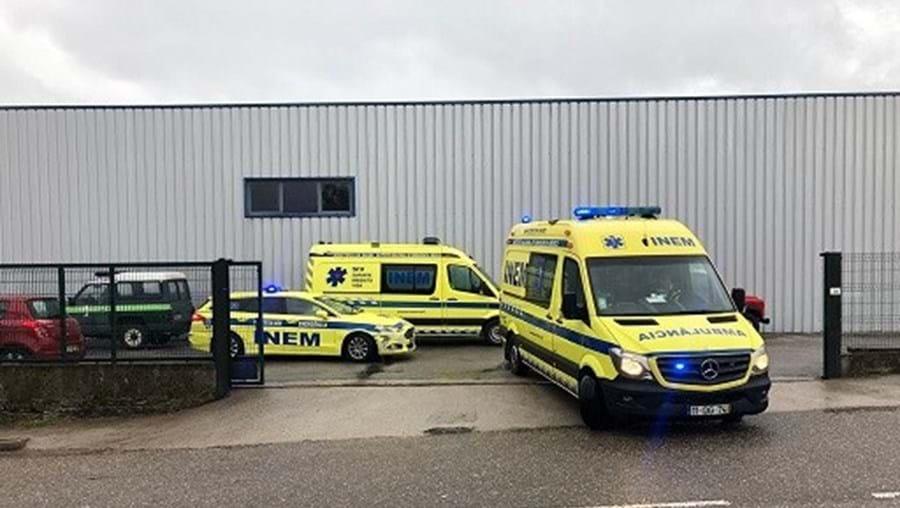 Um morto na explosão em fábrica de Melgaço. Há dois feridos