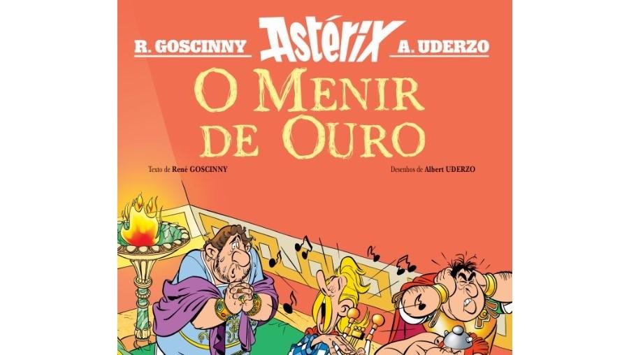Novo álbum de Astérix chega às livrarias