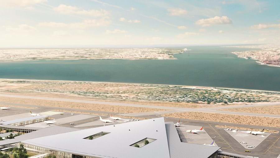 A obra de transformação da base aérea do Montijo tem um custo estimado de mil milhões de euros