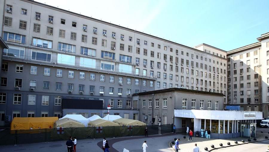 Hospital Santa Maria, em Lisboa