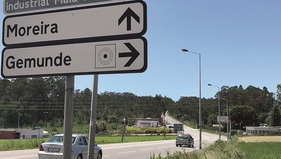 Variante à EN14, que se iniciará no nó do Jumbo, passará pela Via Diagonal, na Maia, até ao interface rodoviário da Trofa
