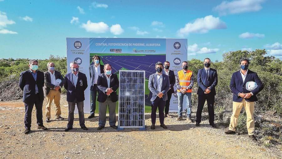 Primeira pedra do novo equipamento foi lançada ontem pela empresa promotora do projeto e pela Câmara de Albufeira