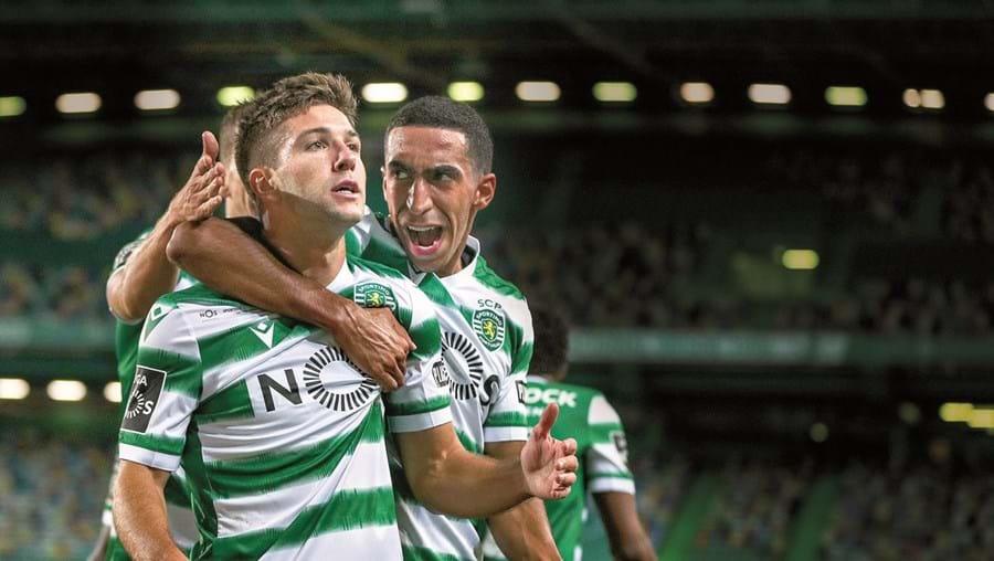 Vietto marou o golo do empate frente ao FC Porto. Foi o seu último jogo pelos Sporting