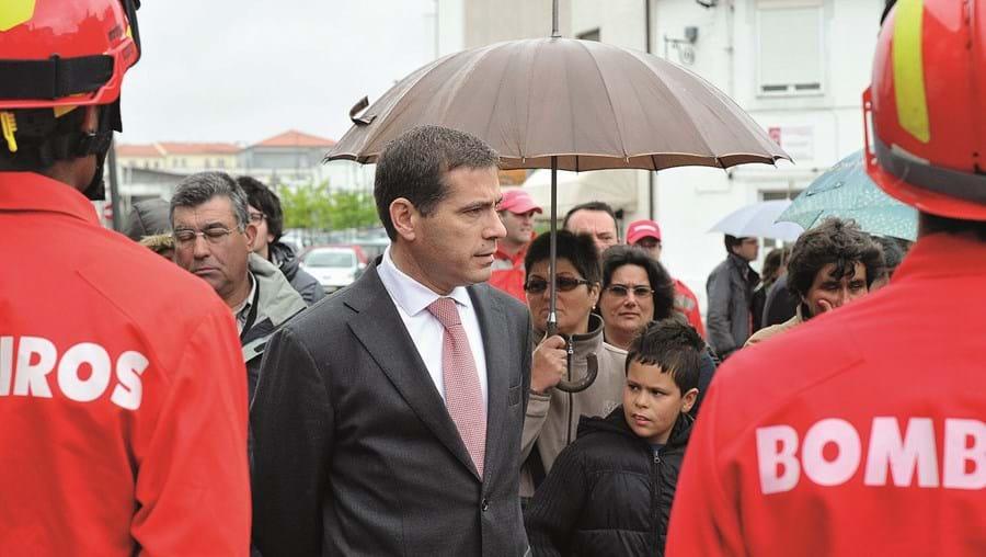 João Lourenço, que foi presidente da Câmara Municipal de Santa Comba Dão entre 2005 e 2013, está a ser julgado