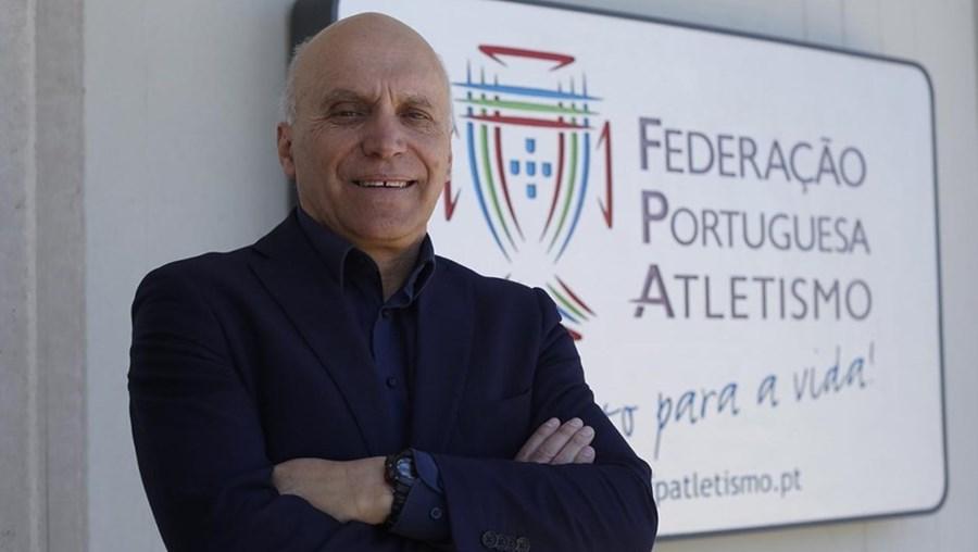 Jorge Vieira, Presidente da Federação de Atletismo