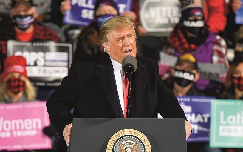 Presidente espera poder regressar aos comícios já este fim de semana, após luz verde do médico da Casa Branca