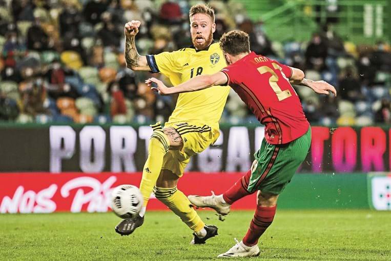 Diogo Jota fez desta forma o segundo golo de Portugal