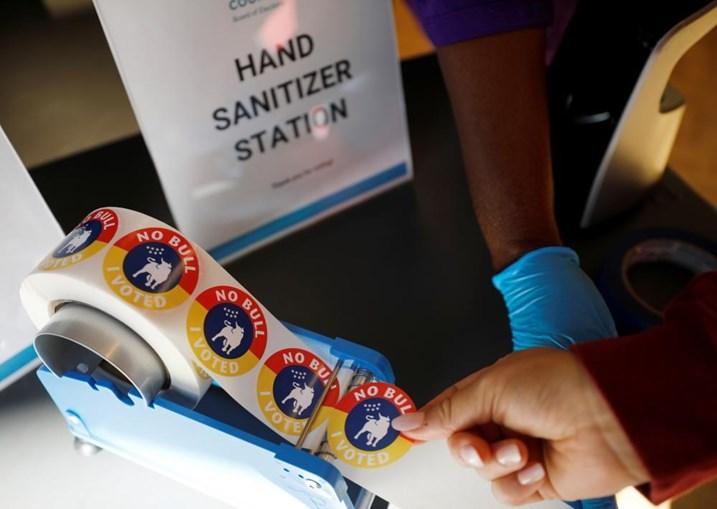 Votações decorrem com apertadas medidas sanitárias
