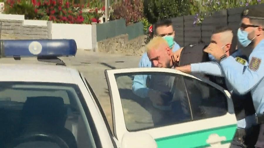 Veja o momento da detenção do 'Pirata', o ladrão que abandonou a namorada baleada pela PSP