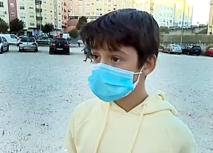 Tiago Malagaia tem 12 anos