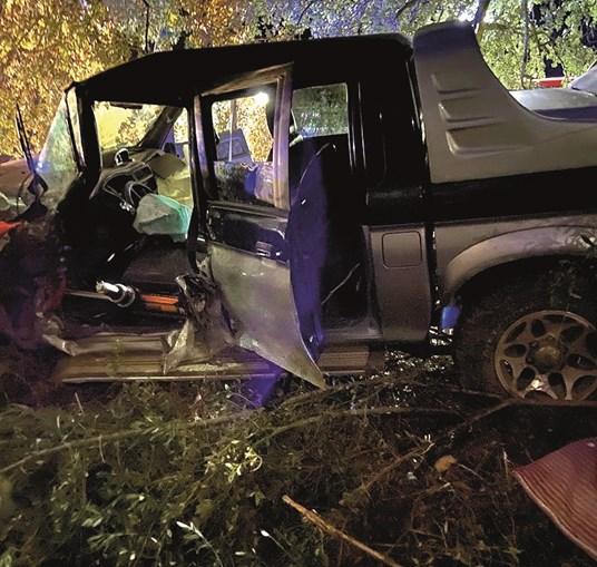 Despiste de veículo todo-o-terreno provocou um ferido grave
