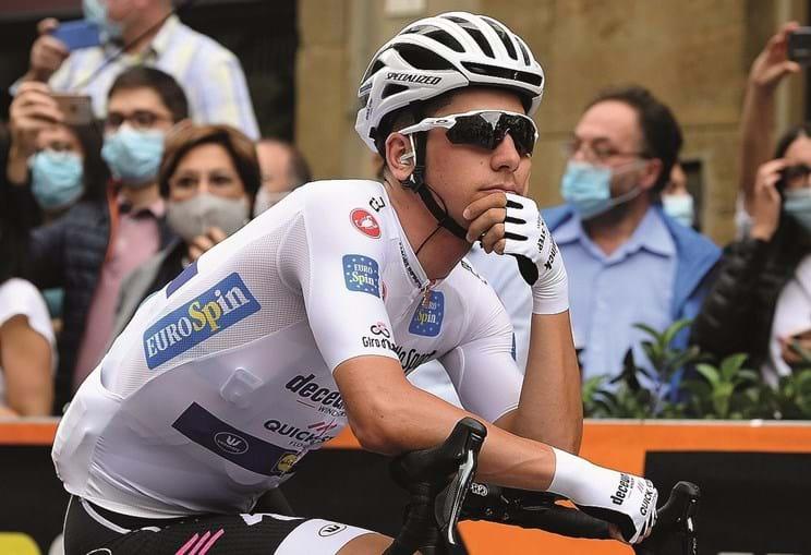 João Almeida foi líder da classificação durante duas semanas