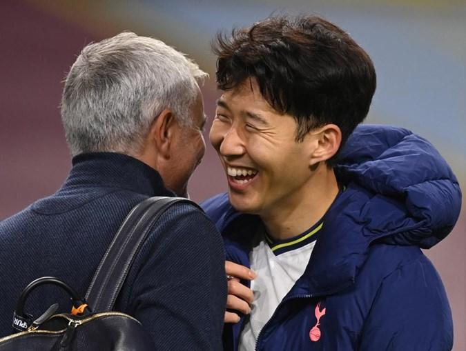Mourinho com Son