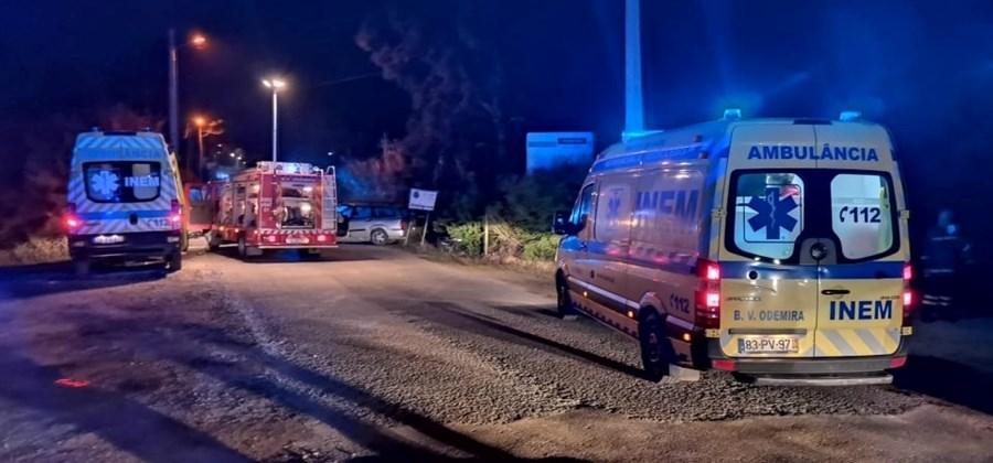 Colisão provoca um morto e um ferido em Odemira
