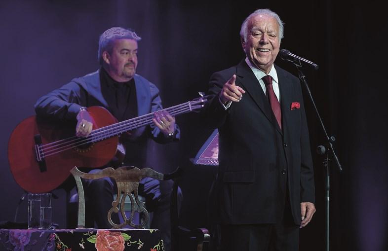 Carlos do Carmo despediu-se dos palcos em 2019