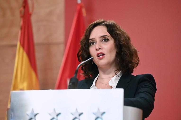 Ayuso anuncia medidas em Madrid