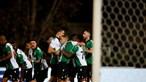 Sporting vence Sacavenense por 7-1 com muitas estreias e avança na Taça