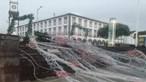 Queda de árvores, telhas arrancadas e estruturas destruídas: Açores atingidos pelo mau tempo
