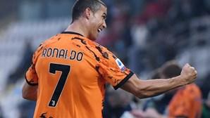 Cristiano Ronaldo regressa imparável ao relvado após luta contra a Covid-19