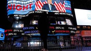 As melhores imagens do dia em que a América foi a votos
