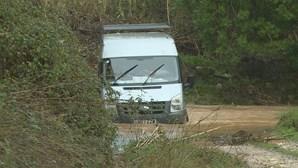 Condutor resgatado da Ribeira do Farelo em Portimão