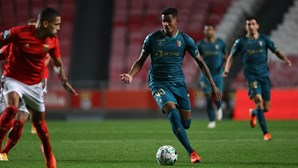 Sporting de Braga vence Benfica na Luz e alcança 'encarnados' no segundo lugar