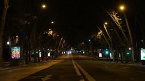 Silêncio dominou ruas de Lisboa na primeira noite de recolher obrigatório