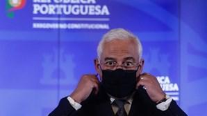 """António Costa afirma que não será """"um Natal normal"""" e admite recolher obrigatório na passagem de ano"""