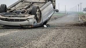 Mais acidentes mas menos mortos nas estradas portugueses até julho
