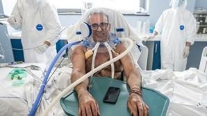 Hospital de Santa Maria da Feira já usou 'capacetes respiratórios' em doentes Covid. Saiba que aparelho é este
